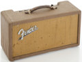Musical Instruments:Amplifiers, PA, & Effects, Circa 1962 Fender Reverb Unit Brown....