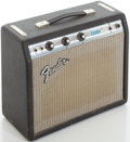 Musical Instruments:Amplifiers, PA, & Effects, 1970's Fender Champ Silverface Guitar Amplifier, #A41130....