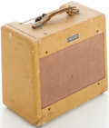 Musical Instruments:Amplifiers, PA, & Effects, Circa 1954 Fender Princeton Tweed Guitar Amplifier, #2984....