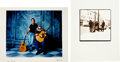 Music Memorabilia:Photos, Grateful Dead Herb Greene Limited Edition Photo Print Group(1995).... (Total: 2 Items)