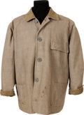 "Movie/TV Memorabilia:Memorabilia, A John Wayne Stockade Jacket from ""North To Alaska,"" ""McLintock!""and ""The Sons of Katie Elder.""..."