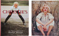 Movie/TV Memorabilia:Memorabilia, Two Marilyn Monroe Auction Catalogues, 1999, 2005....