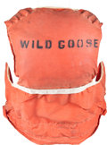 Movie/TV Memorabilia:Memorabilia, A John Wayne-Related Life Vest from 'The Wild Goose,' 1979....