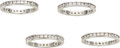 Estate Jewelry:Rings, Gentleman's Diamond, Platinum Eternity Bands. ...