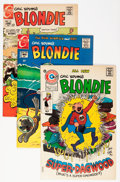 Bronze Age (1970-1979):Humor, Blondie File Copy Group (Charlton, 1969-76) Condition: AverageVF.... (Total: 81 Comic Books)