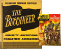 Memorabilia:Movie-Related, The Buccaneer Campaign Portfolio (Paramount, 1958).... (Total: 2Items)