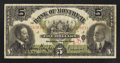 Canadian Currency: , Montreal, PQ- Bank of Montreal $5 Nov. 3, 1914 Ch. # 505-54-12. ...