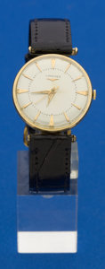Timepieces:Wristwatch, Longines 14k Gold Manual Wind Wristwatches. ...