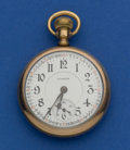 Timepieces:Pocket (post 1900), Illinois Abe Lincoln 21 Jewel Pocket Watch. ...