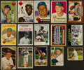 Baseball Cards:Lots, 1940's - 1980's Baseball Card Collection (260+) - Many Brooklyn Dodgers. ...
