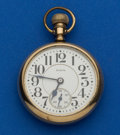 Timepieces:Pocket (post 1900), Elgin Father Time 21 Jewel Pocket Watch. ...