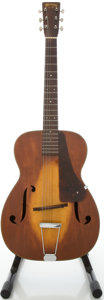 Musical Instruments:Acoustic Guitars, 1934 Martin R-18 Refinished Archtop Acoustic Guitar, #57802....