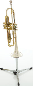 Musical Instruments:Horns & Wind Instruments, Circa late 1960's King Super 20 Silver-Sonic Trumpet, #418104....