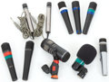 Musical Instruments:Amplifiers, PA, & Effects, Microphone Lot: Peavey, V-Tech, TEAC, Shure, Etc. ...