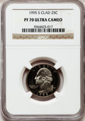Proof Washington Quarters: , 1995-S 25C Clad PR70 Ultra Cameo NGC. NGC Census: (169). PCGSPopulation (177). Numismedia Wsl. Price for problem free NGC...