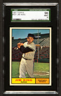 Baseball Cards:Singles (1960-1969), 1961 Topps Jim King #351 SGC 96 Mint 9 - Pop One With NoneHigher!...