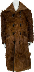 Western Expansion:Cowboy, Antique Men's Western Bearskin Coat.... (Total: 3 Items)
