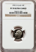Proof Roosevelt Dimes: , 1992-S 10C Clad PR70 Ultra Cameo NGC. NGC Census: (241). PCGSPopulation (246). Numismedia Wsl. Price for problem free NGC...