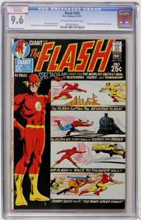The Flash #205 (DC, 1971) CGC NM+ 9.6 Off-white to white pages