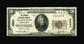 National Bank Notes:Pennsylvania, Evans City, PA - $20 1929 Ty. 1 The Citizens NB Ch. # 8854. ...
