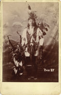 American Indian Art:Photography, PASS BY, MINICONJOU LAKOTA. c. 1885. ...