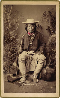 NANA, WARM SPRINGS APACHE CHIEF, BROTHER-IN-LAW OF GERONIMO c. 1884