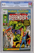 Bronze Age (1970-1979):Superhero, Marvel Feature #1 (Marvel, 1971) CGC VF+ 8.5 White pages....