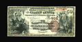 National Bank Notes:Pennsylvania, Oxford, PA - $50 1882 Brown Back Fr. 508 The NB of Oxford Ch. # 728. ...