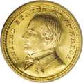 Commemorative Gold: , 1903 G$1 Louisiana Purchase/McKinley MS66 PCGS. Shimmering lusterand lovely yellow-gold toning are the highlights of this ...