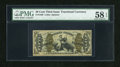 Fractional Currency:Third Issue, Fr. 1370 50c Third Issue Justice PMG Choice About Unc 58 EPQ....
