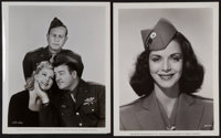 """Abbott and Costello Lot (Various, 1940s). Photos (10) (8"""" X 10""""). Comedy. ... (Total: 10 Items)"""