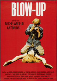 "Blow-Up (Neue Visionen Filmverleih, R-2007). German A1 (23.5"" X 33""). Thriller"