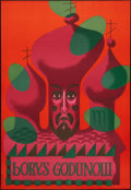 "Movie Posters:Musical, Boris Godunov (R-1970s). Polish Opera Poster (26.5"" X 38""). Musical.. ..."