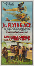 "Movie Posters:Black Films, The Flying Ace (Norman, 1926). Three Sheet (41"" X 81""). BlackFilms.. ..."