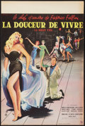 """Movie Posters:Foreign, La Dolce Vita (Consortium Pathe, 1960). French Petite (15.5"""" X23.5""""). Foreign.. ..."""