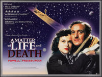 "Stairway to Heaven (British Film, R-2000). British Quad (30"" X 40""). British title: A Matter of Life and Death..."