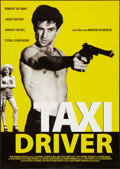 "Movie Posters:Crime, Taxi Driver (Columbia, R-2000s). German A1 (23"" X 33""). Crime.. ..."