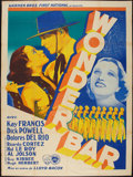 "Movie Posters:Musical, Wonder Bar (Warner Brothers-First National, 1934). French Grande(47"" X 63""). Musical.. ..."