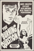 """Movie Posters:Exploitation, Reefer Madness (Motion Picture Ventures, R-1960s). One Sheet (27"""" X41""""). Cult Classic... ..."""