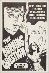 """Reefer Madness (Motion Picture Ventures, R-1960s). One Sheet (27"""" X 41""""). Cult Classic"""