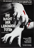 """Movie Posters:Horror, Night of the Living Dead (Continental, R-1977). German A1 (23"""" X 33""""). Horror.. ..."""