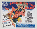 "Movie Posters:Musical, Singin' in the Rain (MGM, R-1962). Half Sheet (22"" X 28"").Musical.. ..."