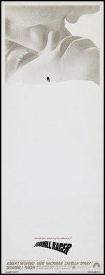 """Downhill Racer (Paramount, 1969). Insert (14"""" X 36"""") Paper Backed. Drama"""