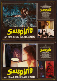 "Suspiria and Other Lot (P.A.C., 1977). Italian Photobustas (7) (18.5"" X 26.5""). Horror. ... (Total: 7 Items)"