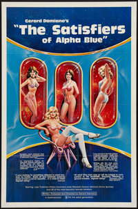 """The Satisfiers of Alpha Blue (Adventure, 1980). One Sheet (27"""" X 41""""). Adult"""