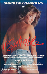 """Insatiable (Miracle Films, 1980). One Sheet (23"""" X 37""""). Adult"""