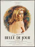 """Movie Posters:Foreign, Belle de Jour (Valoria Films, 1967). French Affiche (23.5"""" X31.5""""). Foreign.. ..."""