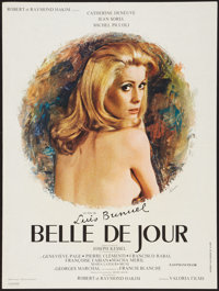 "Belle de Jour (Valoria Films, 1967). French Affiche (23.5"" X 31.5""). Foreign"