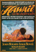 "Movie Posters:Adult, Eruption (Atlas Film, 1978). Swedish One Sheet (27.5"" X 39.5"").Adult.. ..."