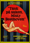 "Movie Posters:Adult, The Opening of Misty Beethoven (Quality, 1976). Swedish One Sheet (27.5"" X 39.5""). Adult.. ..."